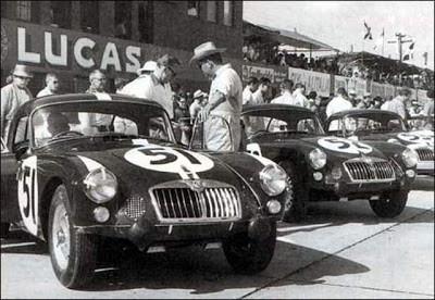 British Pathe Film. The Game Changing MGA. Motorsport Heritage.