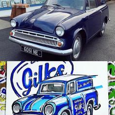 """""""Cobby"""" The Gilks Garage Cafe Commer Cob"""