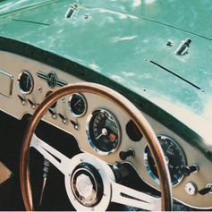 This Le Mans wheel was fitted in Barbados