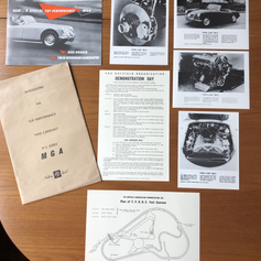 Reproduction MGCC Twin Cam Press Launch Pack - Cobham 1958