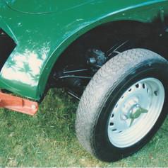 Custom a-frame tow dolly