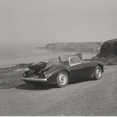 Rob and Denise's Road Trip to Cornwall mid 1960s JJJ888
