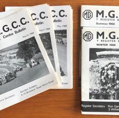 1968 - MGCC SE and T Series Bulletins