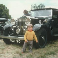 AGU790 - Rolls Royce on Show c1975