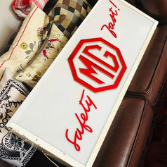 MG Dealership Sign - 1960s, Light Box, Deal Kent