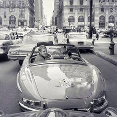 Steve McQueen in New York Mercedes Style!