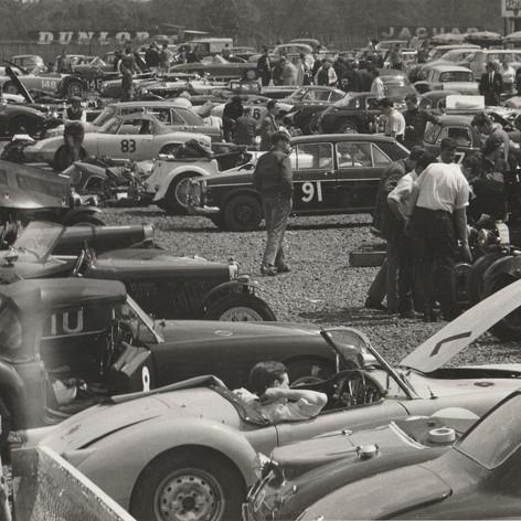 1960s Silverstone Motor Racing Paddock - 1960s