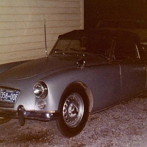 Scott Cisco's 1961 MGA Twin Cam, Peterborough Canada, 1967