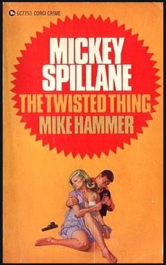 Renato Fratini - Mickey Spillane Corgi Crime Books