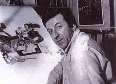 Arnaldo Putzu painting Bless This House poster Summer 1973