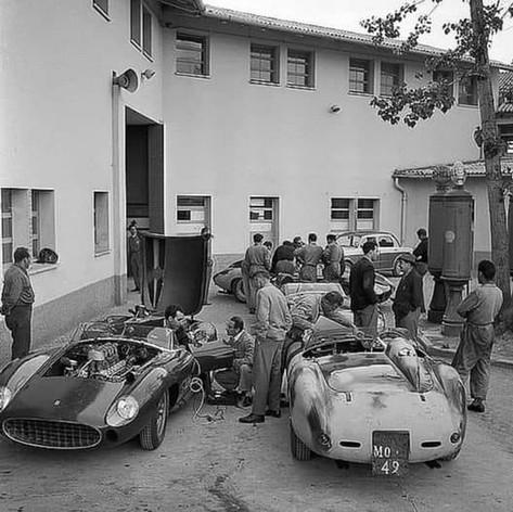 Factory Period Ferraris - Mille Miglia
