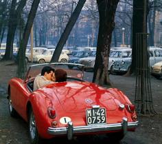 Wonderfully evocative Italian MGA street scen
