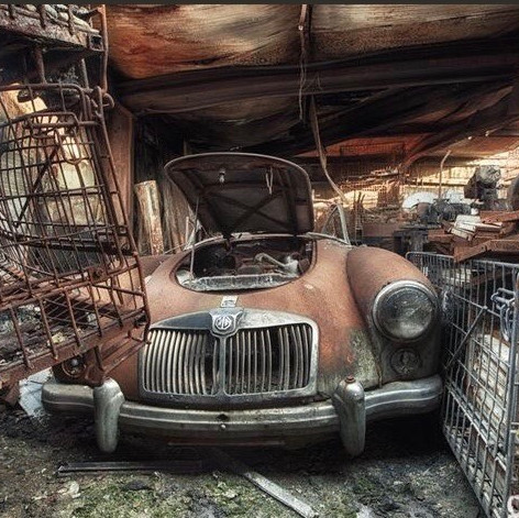 Now that's what I call a barnfind!