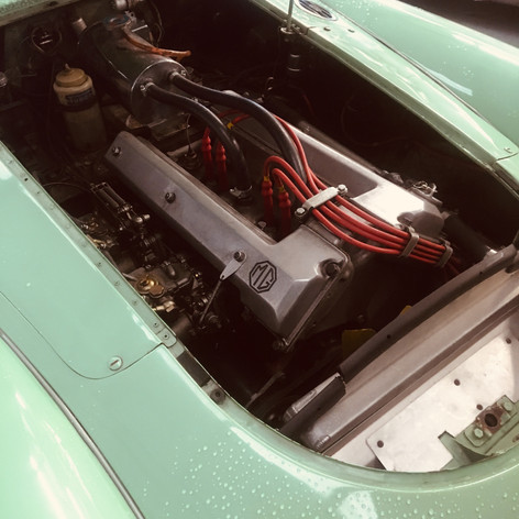1 MTW - ex Dick Jacobs MGA Twin Cam Racer