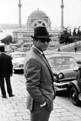 """Sean Connery, Istanbul, filming James Bond """"For Russia With Love"""""""