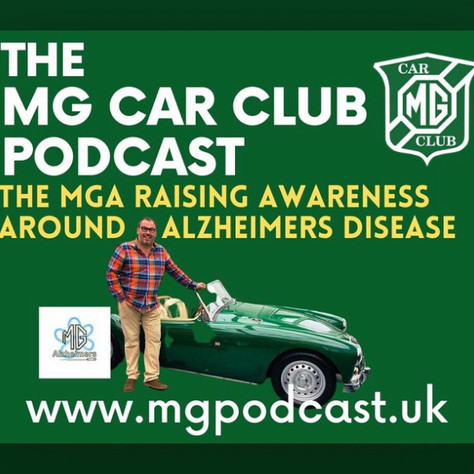 Music To Your Ears: MGAlzheimers guests on the MG Car Club Podcast