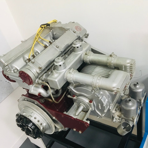 EX181 Supercharged Twin Cam Power Unit