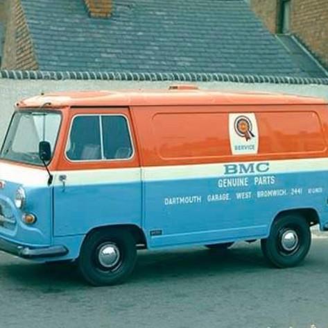 BMC Morris Parts Panel Van