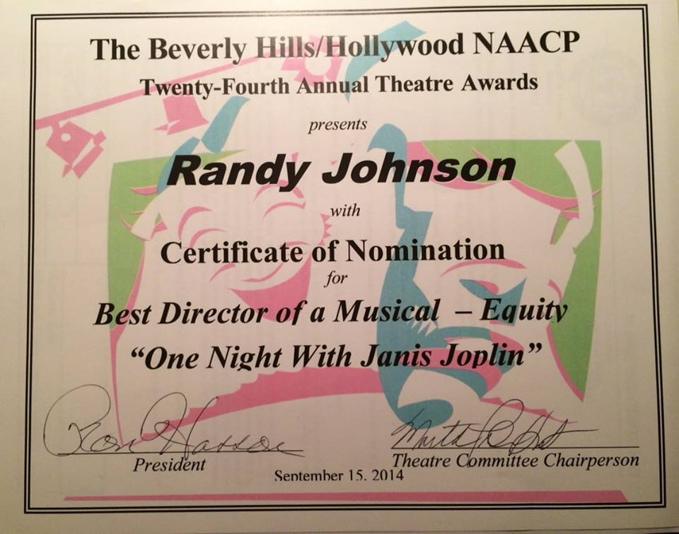 NAACP THEATRE AWARD
