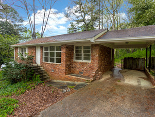 SOLD - Briarcliff / North Druid Hills Fixer Upper