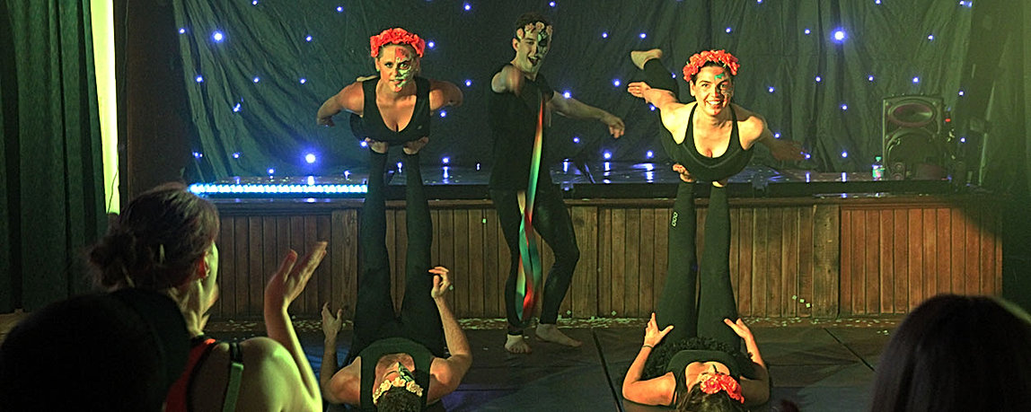 Corporate Circus Juggling