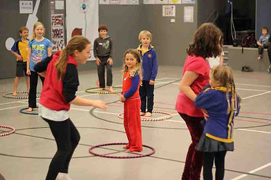 Teamwork Circus Games