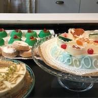 Ammu's Bakery in Milan featuring pistachio canoli