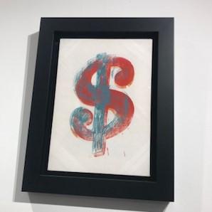 Andy Warhol image taken at Moco, Amsterdam