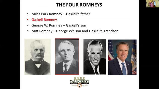 Gaskell Romney, prominent Yalecrest builder