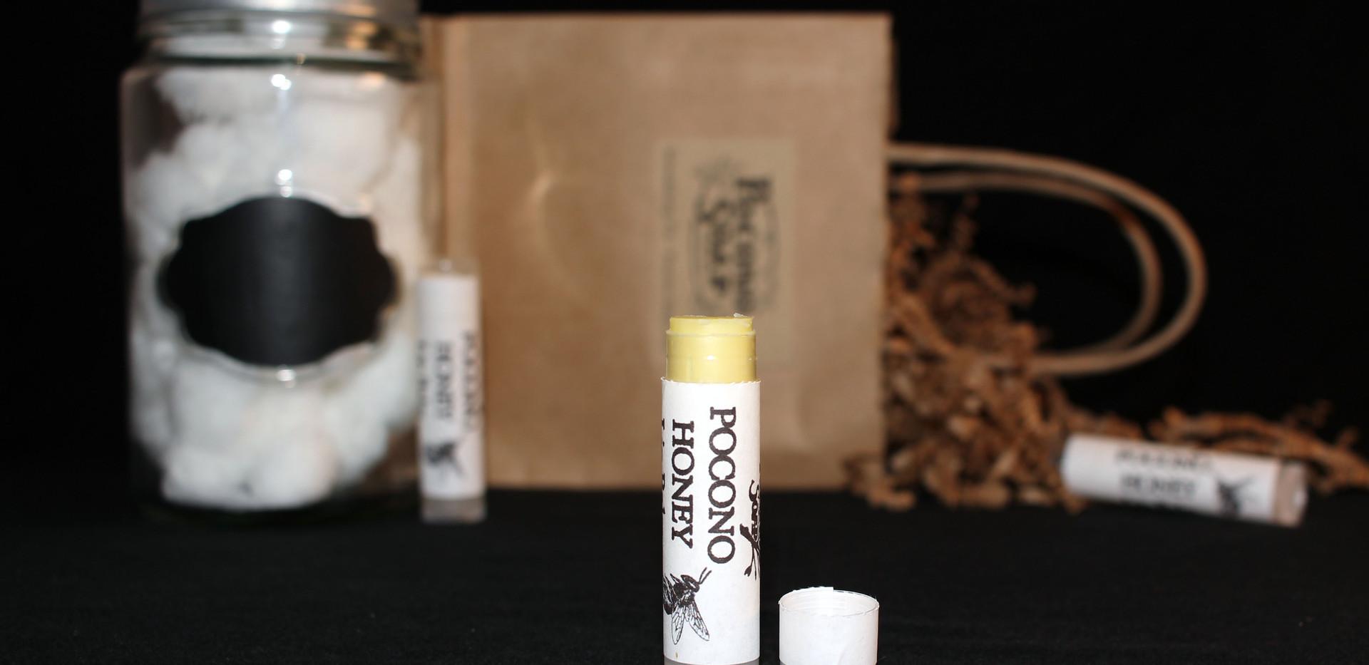 Pocono Honey Chapstick Product Shot