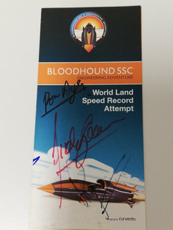 Bloodhound SSC Signed