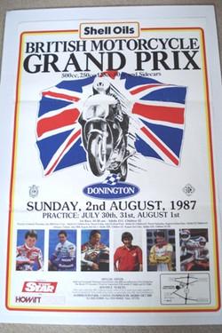 British Motorcycle GP Donnington 1987