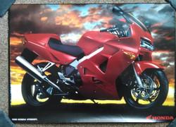VFR800F1 Original Sales Poster