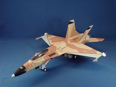 Armour 'Top Gun' F18 Hornet 1:48 Scale