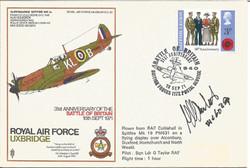 RAF Uxbridge BOB Anniversary-Martel Sign