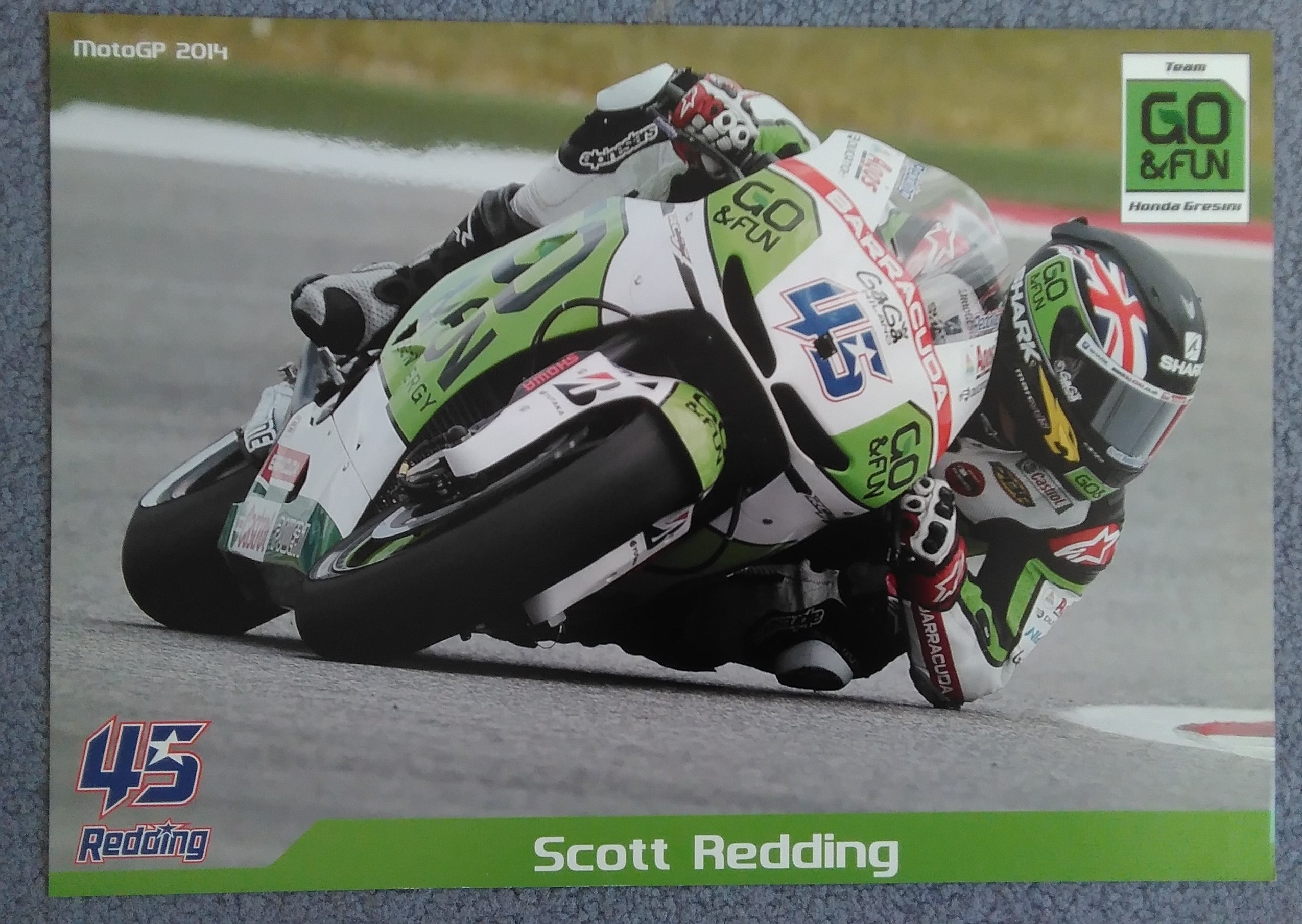 Scott Redding Moto GP