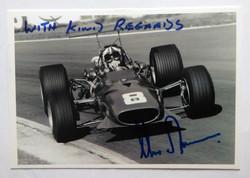 Chris Amon Signed-Ferrari