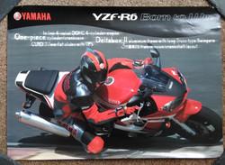 Yamaha YZF-R6 Poster