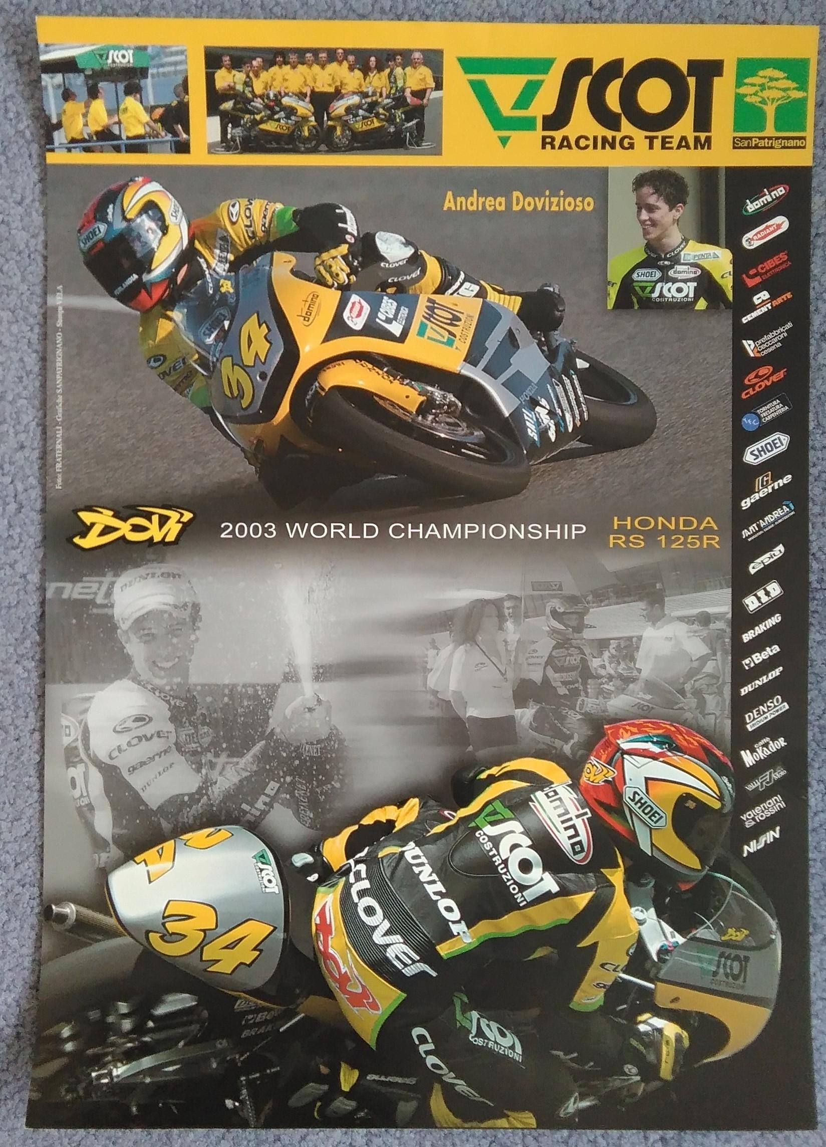 Andrea Dovizioso 125cc 2003