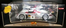 Signed Audi R8 Le Mans Winner 2000