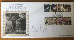 Vera Lynn Signed VE Day Cover