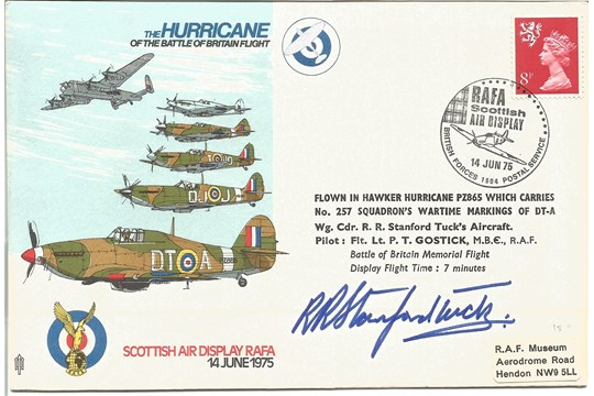 Bob Stanford Tuck Signed BBMF FDC