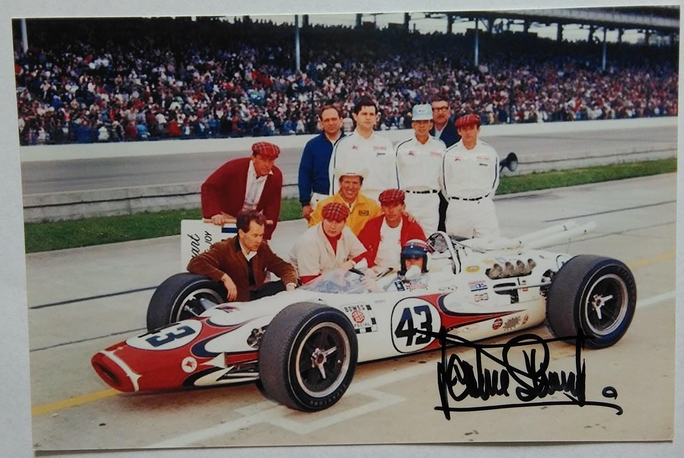 Jackie Stewart Indy 500 1966