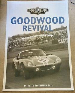 Original Goodwood Revival Poster 2012