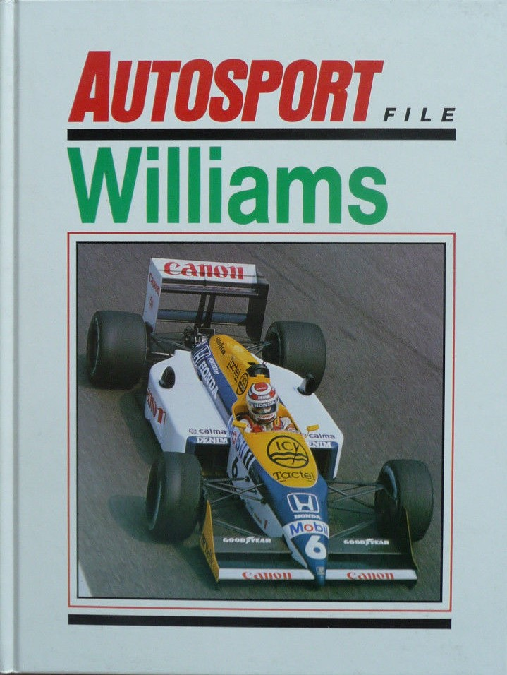 Williams Autosport Book