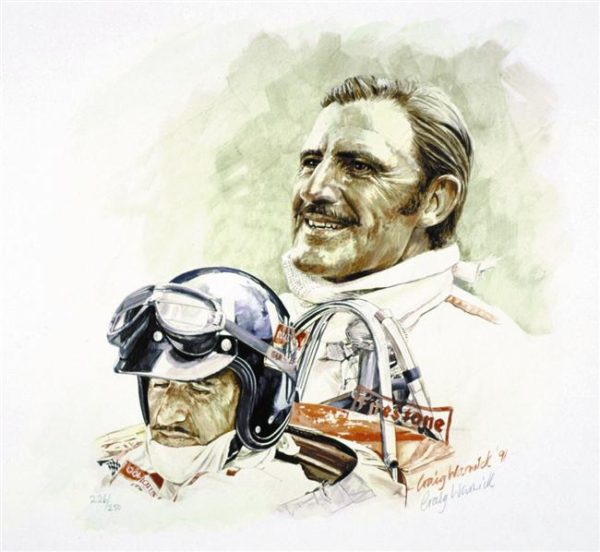 Graham Hill by Craig Warwick