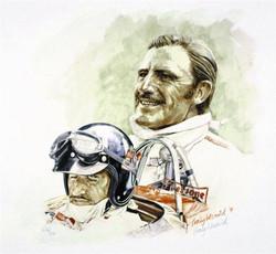 Graham Hill by Craig Warwick