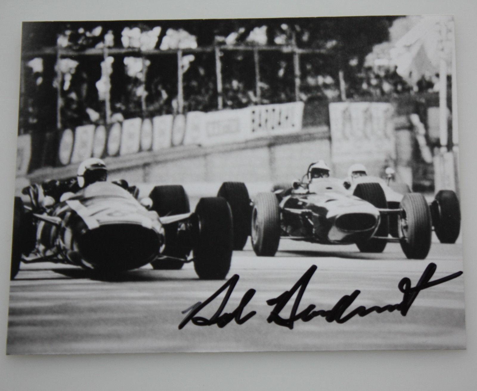 Bob Bondurant Signed Photo