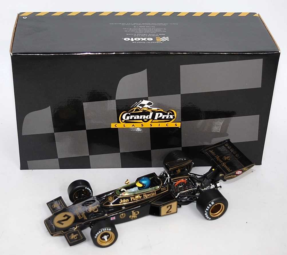 Ronnie Peterson Lotus 72 by Exoto (GPC97031)