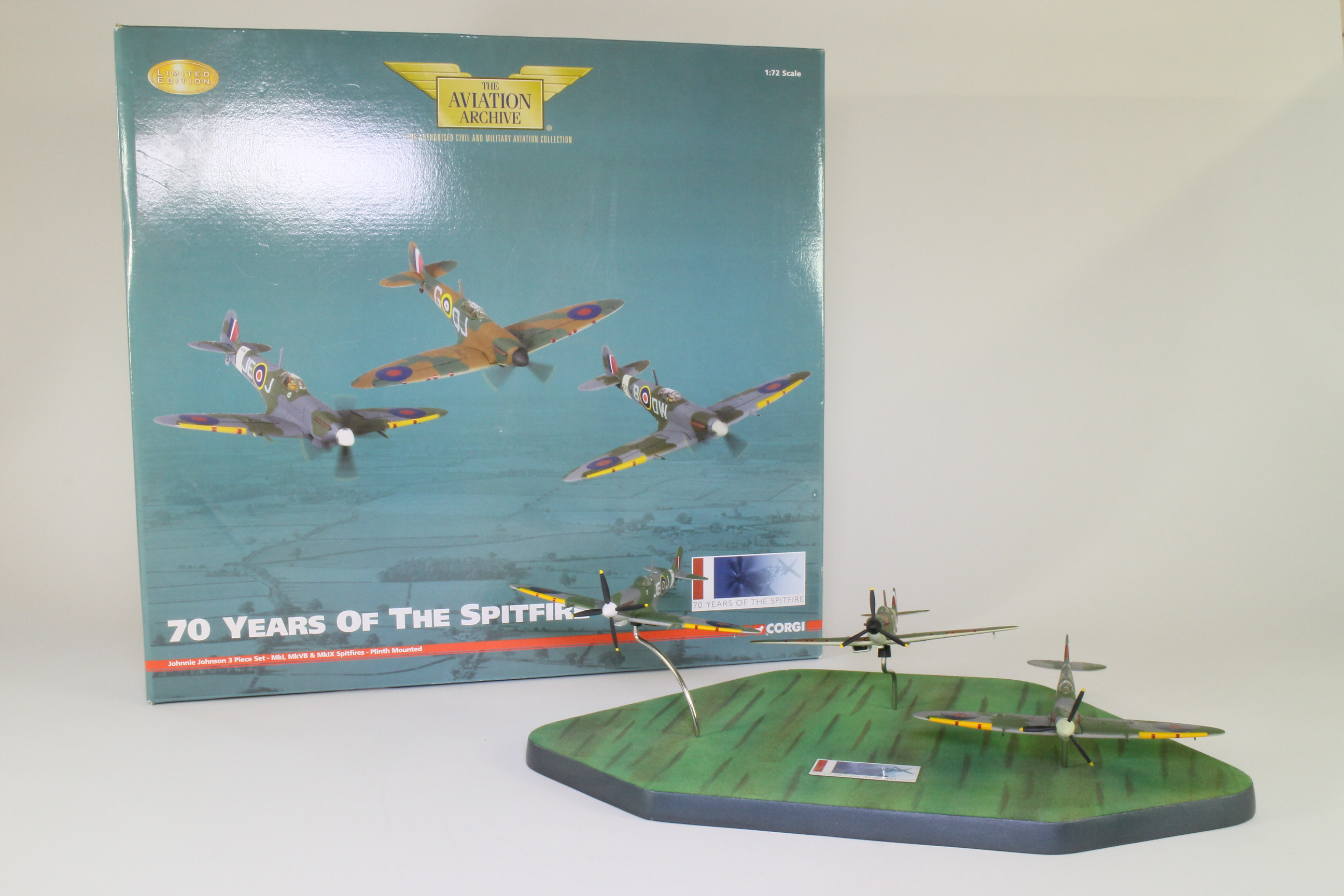 Corgi 70 Years of the Spitfire Set